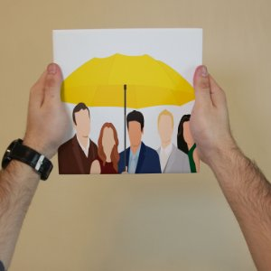 Azulejo Decorativo How I Met Your Mother