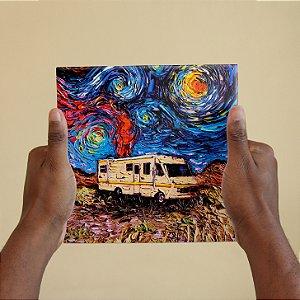 Azulejo Decorativo Breaking Bad Van Gogh