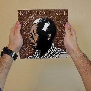 Azulejo Decorativo Não Violência