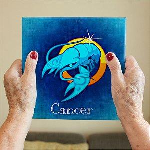 Azulejo Decorativo CANCER - Coleção Signos do Zodíaco