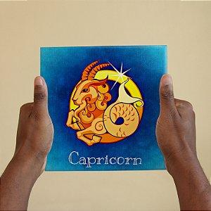 Azulejo Decorativo CAPRICÓRNIO - Coleção Signos do Zodíaco