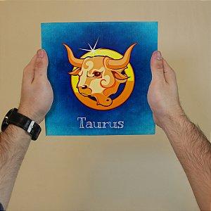 Azulejo Decorativo TOURO - Coleção Signos do Zodíaco