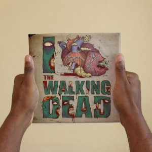 Azulejo Decorativo I ♥ The Walking Dead
