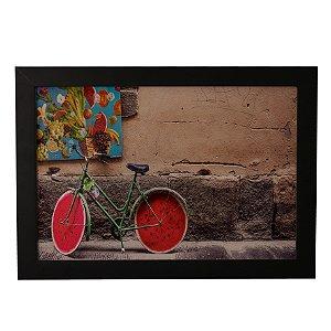 Quadro Decorativo Bicicleta Melancia
