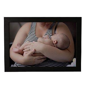 Quadro Decorativo Mãe e Bebê