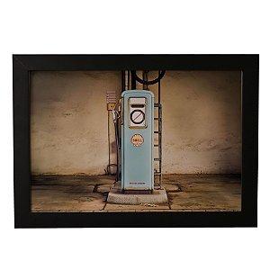 Quadro Decorativo Gasolina Vintage