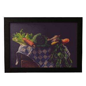 Quadro Decorativo Vintage Vegetais