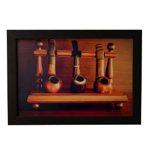 Quadro Decorativo Vintage Cachimbos