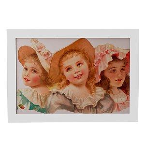 Quadro Decorativo Três Garotas