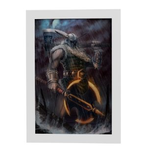 Quadro Decorativo Olaf (League of Legends)