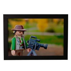 Quadro Decorativo Cineasta LEGO