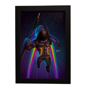 Quadro Decorativo Voyager Sombrio Fortnite
