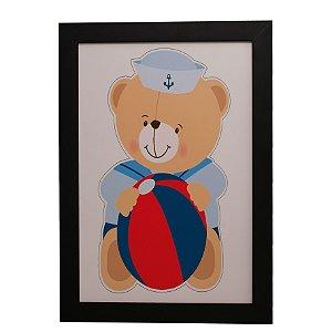 Quadro Decorativo Ursinho Marinheiro