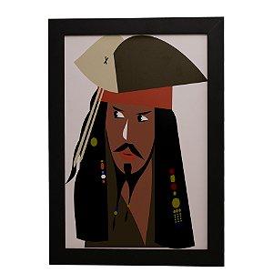 Quadro Decorativo Jack Sparrow