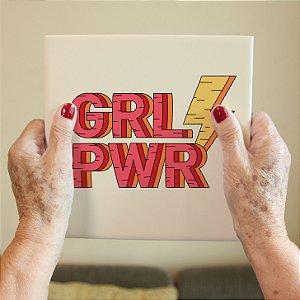 Azulejo Decorativo Girl Power