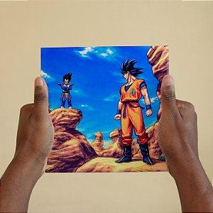 Azulejo Decorativo Goku vs Vegeta #2