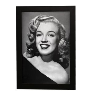 Quadro Decorativo Marilyn Monroe P&B
