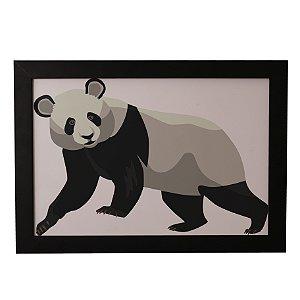 Quadro Decorativo Panda Caminhando