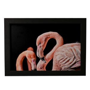 Quadro Decorativo Flamingos #2