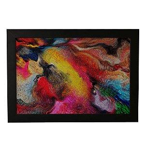 Quadro Decorativo Abstrato Multicolor
