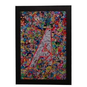 Quadro Decorativo The Avengers (Os Vingadores)