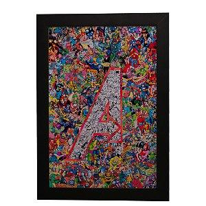 Quadro Decorativo The Avengers (Os Vingadores)
