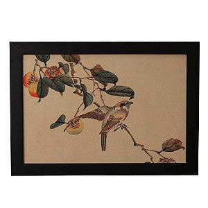 Quadro Decorativo Vintage Birds