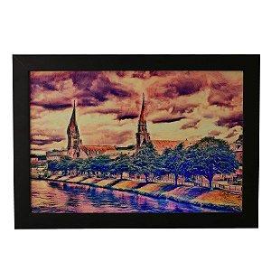 Quadro Decorativo Pintura em Aquarela