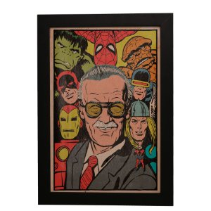 Quadro Decorativo Stan Lee (Marvel)
