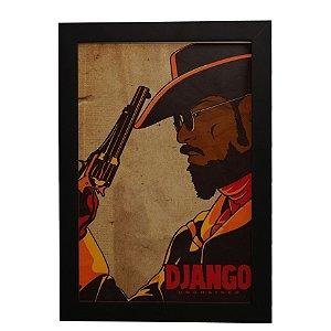 Quadro Decorativo Django Livre