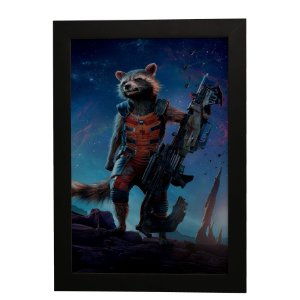 Quadro Decorativo Rocket Raccoon