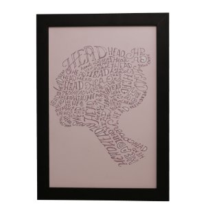 "Quadro Decorativo Mulher ""Head"""