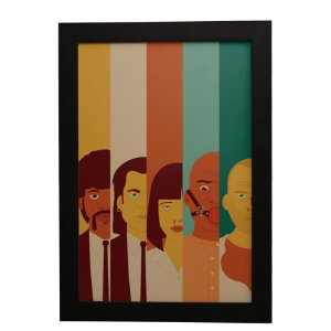 Quadro Decorativo Pulp Fiction #2