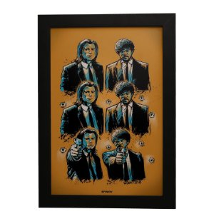 Quadro Decorativo Pulp Fiction #3