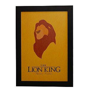 Quadro Decorativo O Rei Leão #1