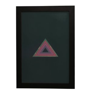 Quadro Decorativo Triângulo