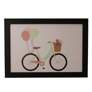 Quadro Decorativo Infantil Bike