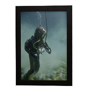 Quadro Decorativo Mergulhador