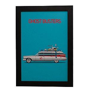 Quadro Decorativo Carro GhostBusters