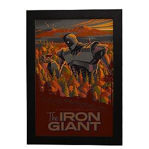 Quadro Decorativo Gigante de Ferro