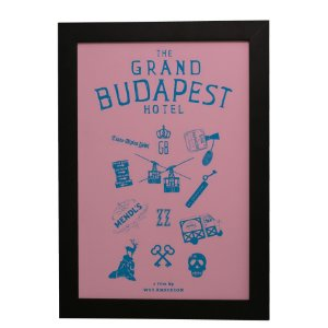 Quadro Decorativo Grand Budapest Hotel