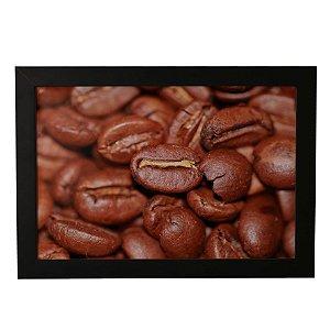 Quadro Decorativo Grãos de Café