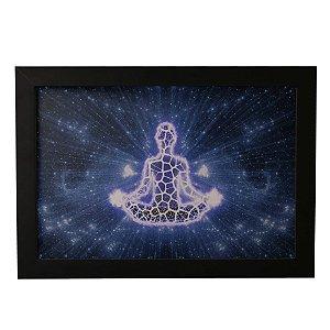 Quadro Decorativo Meditação Cósmica
