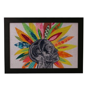 Quadro Decorativo Flor Astral