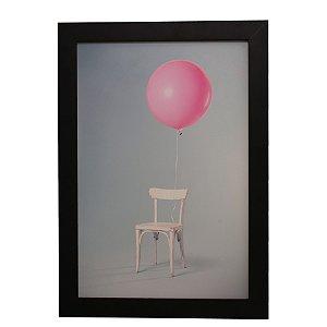 Quadro Decorativo Cadeira e Balão