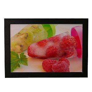 Quadro Decorativo Sorvetes de Fruta