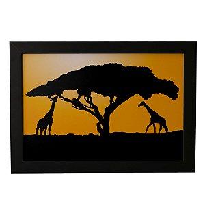 Quadro Decorativo Sombra Safari