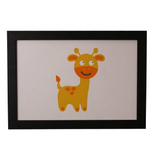 Quadro Decorativo Girafinha