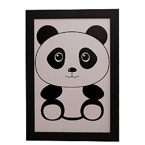 Quadro Decorativo Infantil Pandinha