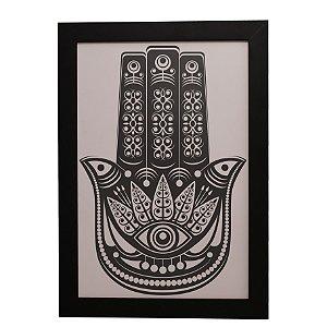 Quadro Decorativo Hamsá